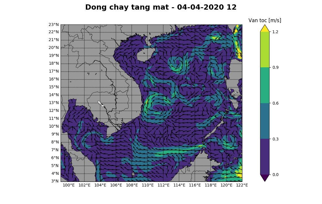 Bản tin dự báo dòng chảy 10 ngày tới (từ ngày 04/04 đến ngày 13/04/2020)