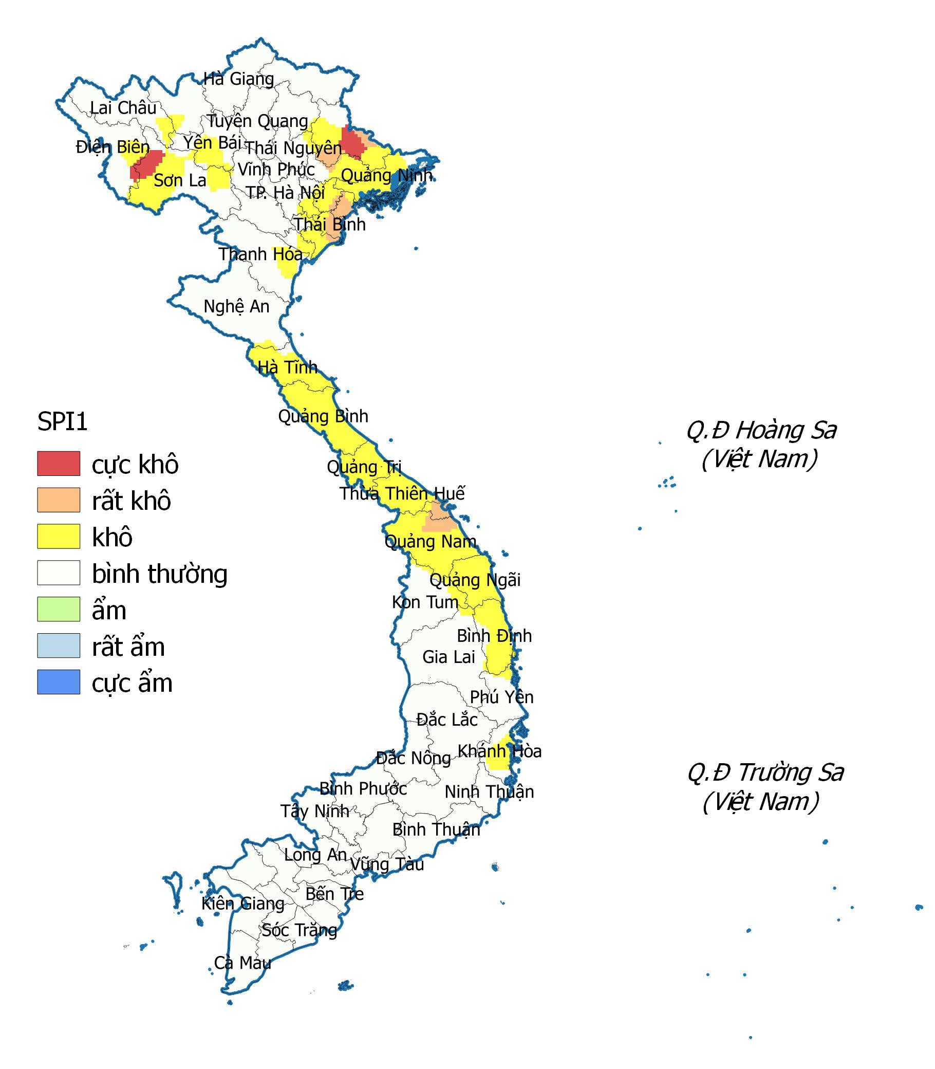 Bản tin dự báo, cảnh báo hạn khí tượng tại các vùng trên cả nước từ ngày 11/6-6/7/2020