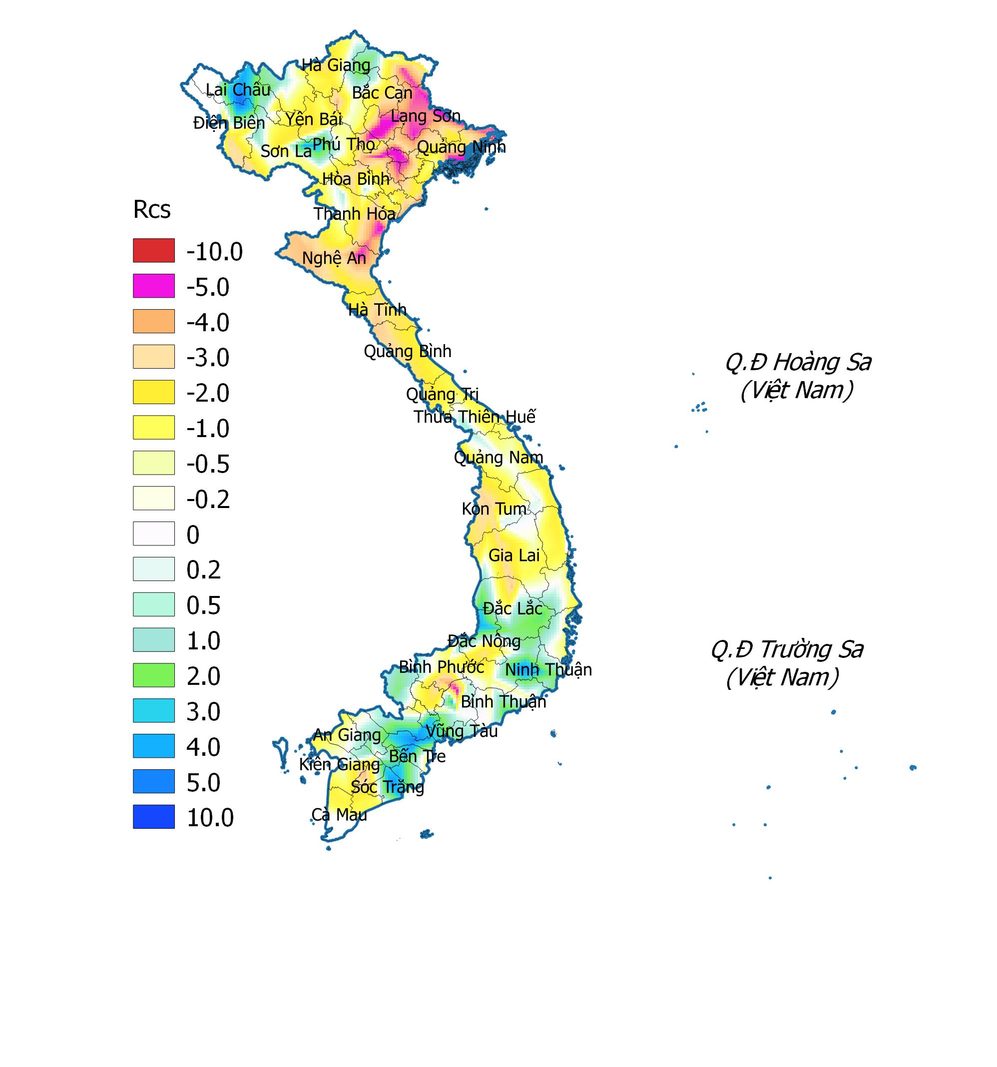 Bản tin dự báo, cảnh báo hạn khí tượng tại các vùng trên cả nước từ ngày 15/7-11/8/2020